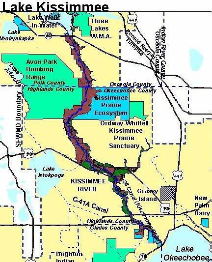 The kissimmee river for Lake kissimmee fishing report